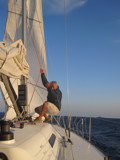 Captain Michali Sailing to Kythira by Vickid, photography->boats gallery