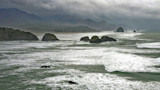 haystack, etc. on a stormy day. by jeenie11, Photography->Shorelines gallery