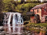The Mill by the Falls by Dunstickin, photography->waterfalls gallery