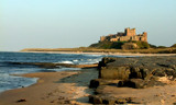 Bamburgh late evening. by shedhead, Photography->Castles/Ruins gallery