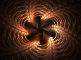 Copper Waves by razorjack51, Abstract->Fractal gallery