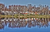 Tree line reflections by Inkeri, photography->gardens gallery