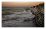 sea defences at sunset by JQ, Photography->Shorelines gallery