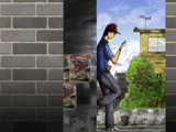 By the street by priyanthab, Illustrations->Digital gallery