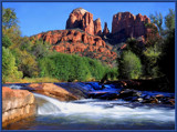 RED ROCK CROSSING by pikman, Photography->Landscape gallery