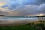 Storm Clouds over Curio Bay by LynEve, photography->shorelines gallery