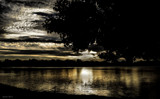 Low Light Conditions Over Center Lake by tigger3, contests->b/w challenge gallery