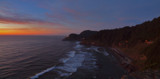 Heceta Head at Sunset by LedsLens, photography->sunset/rise gallery