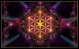 Flower of Life by nmsmith, abstract->fractal gallery