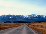Rocky Mountain Road 2 by ladyprariefire, photography->mountains gallery