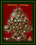 Flower Tree Greetings by LynEve, holidays->christmas gallery