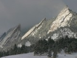 The Mystical Flatirons by Yenom, Photography->Mountains gallery