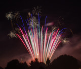 Fan of Fireworks by Pistos, photography->fireworks gallery
