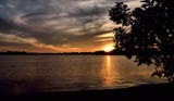 Sunset Sky Over Winona Lake by tigger3, photography->sunset/rise gallery
