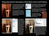 Photoshop Tutorial - Salvaging a Photo with a Color Cast Pro by nmsmith, Tutorials gallery