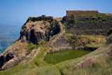 Rajgad wall by jpk40, Photography->Castles/Ruins gallery