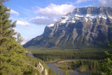 Rundle from the Hoodoo's Trail by Andfre, Photography->Mountains gallery