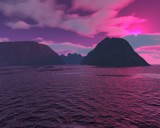 Pink Horizons by bourdett, Computer->Landscape gallery