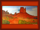 Painting the Canyon by wimida, Illustrations->Traditional gallery