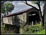 Mull Covered Bridge, The Back Side by Jimbobedsel, Photography->Bridges gallery