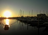 Sunset at the Marina by rhelms, photography->sunset/rise gallery
