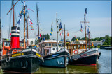 Maritime Nostalgia 9, Old Harbor Tugs by corngrowth, photography->boats gallery
