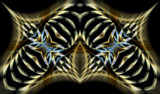 Tiger Tyranny by Flmngseabass, abstract gallery