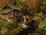 Cedar Creek in Autumn by busybottle, photography->mills gallery