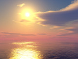 Sea Sunset by timw4mail, computer->landscape gallery