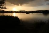 Sunset over light rain by ivanmaniak, photography->landscape gallery