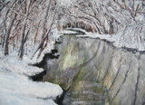 Boulder Creek in Winter - The oil by rotcivski, Photography->Landscape gallery