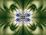 Pretty With Green by Joanie, abstract->fractal gallery