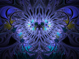 Fanciest Of Butterflies  by Joanie, Abstract->Fractal gallery
