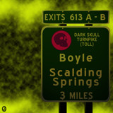 AU Road Signs - Exit 613 by Jhihmoac, illustrations->digital gallery