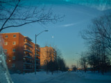 Windshield view of the Moon by soya, Photography->City gallery
