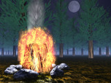 Forest Fire by Froboy7391_99, Computer->3D gallery