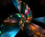 Heart of A Rainbow - For Sandi by jswgpb, Abstract->Fractal gallery