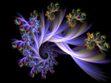Flowers in Her Hair by jswgpb, Abstract->Fractal gallery