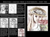 Photoshop Tutorial - Creating a Sketch Out of a Photograph 2 by nmsmith, Tutorials gallery