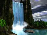 Waterfall by Burto, Computer->Landscape gallery