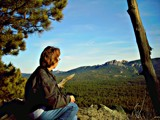 Admiring the Beautiful Black Hills. by Gergie, photography->people gallery