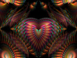 Heart of The Phoenix by jswgpb, Abstract->Fractal gallery