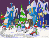 christmas fun by SFDesigns, Illustrations->Traditional gallery