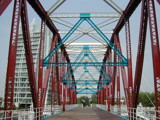 Detroit Bridge - Salford Quays (2) by fogz, Photography->Architecture gallery