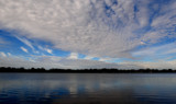 Sky Patterns Over Center Lake by tigger3, photography->skies gallery