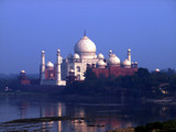 Taj Mahal, Agra from down the river by silicon, Photography->Architecture gallery