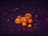 Where Halloween Pumpkins Are Born by vladstudio, illustrations->digital gallery