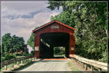 Parker Covered Bridge by Jimbobedsel, photography->bridges gallery