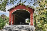 Newly Renovated Mull Covered Bridge by Jimbobedsel, photography->bridges gallery