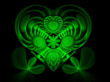 Heart O' The Irish by razorjack51, Abstract->Fractal gallery